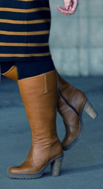 Jordana Super Plus Wide Calf® Boot (Brown) - JJ Footwear Wide Calf ...