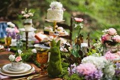 Alice in Wonderland Wedding Palette : Pretty Palettes By The DIY Wedding Planner…