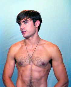Zac Efron Shirtless Picture