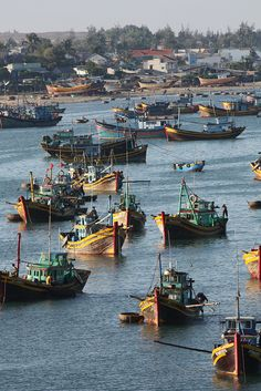 A stunning panorama view of Vietnam's habour <3 #Vietnam