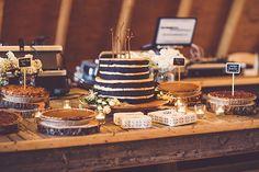 Upstate New York wedding | Photo by  Ryan and Heidi Studio | Read more -  http://www.100layercake.com/blog/?p=79446