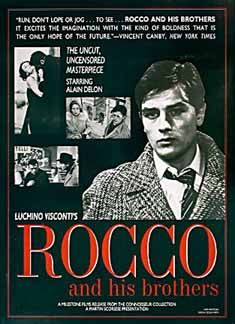 Posteritati: ROCCO AND HIS BROTHERS (Rocco e i suoi fratelli) R1992 U.S. 1 Sheet (27x41)