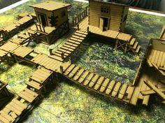 Malifaux Swamp Table