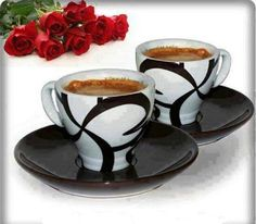 """""""Coffee-time"""" subject today is """"you"""". Coffee Time, Coffee Cups, Tea Cups, Good Morning, Tableware, Google, Husband, Sign, Fashion"""