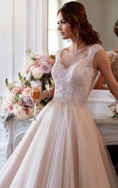 Beautiful Blush Wedding Dresses