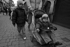 Walking as an exercise is a great way to lose the pounds and get in shape, which is all well and good when you're a toddler and you're pushed around in a pram all day!    This was shot on Maylor Street, Cork a few months back when it was still cold. Wh Being Healthy!! #weight loss http://beckysblog.net/cutest-baby-fat-ever/