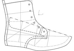 Derby, Autocad, Sewing Tutorials, Sewing Patterns, Shoe Last, Shoe Pattern, Sewing Leather, How To Make Shoes, Fashion Sewing