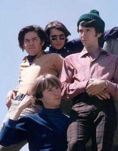 """The Monkees"" Micky Dolenz, Davy Jones, Michael Nesmith, Peter Tork Davy Jones Monkees, The Monkees, Mickey Dolenz, Classic Rock Artists, Thomas Jones, Michael Nesmith, Peter Tork, 60s Music, My Only Love"