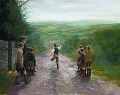 """""""Road Bowlers"""" by Martin Driscoll"""