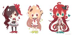 Lineless cheebs by Merollet.deviantart.com on @deviantART
