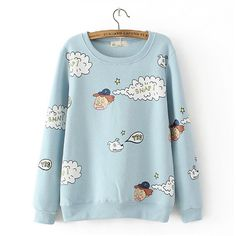 "Material: cotton Color: blue. gray. pink. Size: free size Length: 63 cm / 24.57 "". Bust: 102 cm - 122cm / 39.78 ""-47.58"" Sleeve length: 67 cm / 26.13 "".  Tips:  *Please double check above size and consider your measurements before ordering, thank you ^_^  more women fashion items,please..."