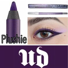 Urban Decay 24/7 Velvet Eyeliner More powdery than the original 24/7 eye pencils. 24/7 Velvet blends easier to create soft, smoky edges. It's the ultimate liner for doing smoky, rimmed eye or, whenever you want a look that's more matte and soft. 24/7 Velvet contains moisturizing jojoba oil & it's paraben-free.BNIB. Never used or swatched. 100% Authentic. No Trades. Price firm unless bundled. All sales final. Ask questions prior to purchasing. Thanks for visiting & Happy Poshing! Urban Decay…