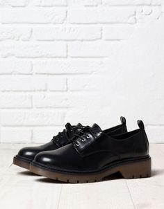 Bershka military derby shoes - Shoes - Bershka Croatia