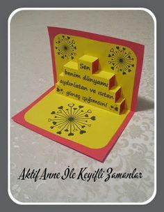 Anneler günü mother day kart card