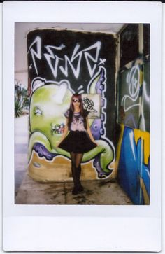 Relíquias da Lara | Looks, Beleza e Lifestyle. : Look do Dia: Wolf. Look do Dia, lookbook, outfits, outfit of the day, moda, purple hair, cabelo roxo, Instax Mini 8 Film