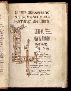 8r, Gospels, Cotton MS Nero D IV, British Library