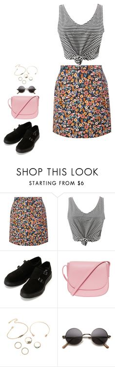 """""""Untitled #361"""" by mmmp ❤ liked on Polyvore featuring Dorothy Perkins, WithChic and Mansur Gavriel"""