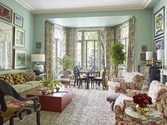 Formal Living Rooms, Living Spaces, Interior Design Chicago, New York Tours, Campaign Furniture, J Mclaughlin, Step Inside, Modern Room, Midcentury Modern