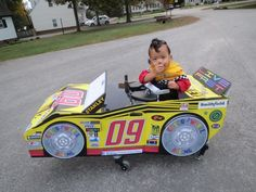 Since Dylan needs wheels to walk why not have fun with it?! For folks looking for a walker or Gait Trainer costume this works great! There are a lot of wheelchair costumes out there but very few with walkers so please share the photos for others looking for inspiration. A special thanks to RoseArt who provided the car that we decorated and modified to work on Dylan's wheels! Sir Dylan Eli the Dragon-Slayer on Facebook
