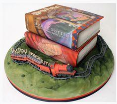 Harry potter taart.