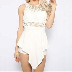 #summer #womenfashion #popular #lace #jumpsuit
