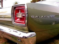Galaxie 500 - I used to have a white one .. . oh memories!