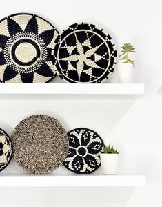 Protect your precious surfaces with this beautiful trivet. Impress your guests when you set your hot dishes on this hand-woven piece. Each purchase empowers artisans in Rwanda working at All Across Africa. Details - Approximately diameter - Made of sis Baskets On Wall, Decor, Home Diy, Wall Decor Bedroom, Boho Decor, Handmade Home Decor, Easy Home Decor, Home Decor Baskets, African Decor