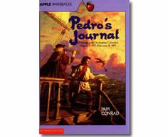 Pedro's Journal by Pam Conrad. Columbus Day books for kids.
