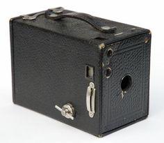 Lådkamera som var den kamera vi hade i familjen på 50-talet