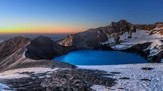 Bing Image Archive: Mount Ruapehu's crater lake in New Zealand (© xflo:w/500px)(Bing United Kingdom)