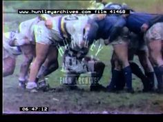 Rugby league in Doncaster, Yorkshire, in the 1970's.  Films 41468