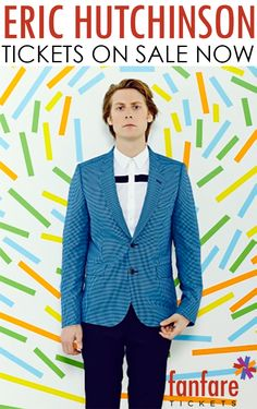 Eric Hutchinson tour- Tickets on sale now!