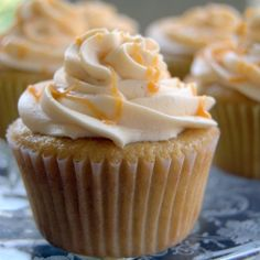 Butterbeer cupcakes for Harry Potter fans