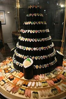 Sushi Tower...WOW