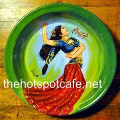 "Lollywood Classics - Individually Hand Painted tin Plate of ""Shehri Babu"""