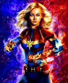 Marvel Dc, Marvel Comics, Comic Poster, Fantasy Girl, Women Empowerment, Ms, Avengers, Wonder Woman, Cosplay
