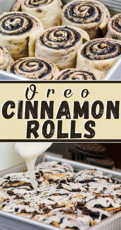 Fun Baking Recipes, Sweet Recipes, Cooking Recipes, Bake Goods Recipes, Recipes With Oreos, Oreo Cookie Recipes, Oreo Cheesecake Recipes, Bacon Recipes, Baking Ideas
