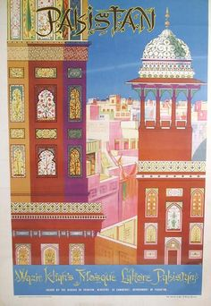 Vintage Travel Posters Pakistan