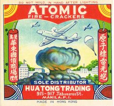 The Colorful Art of Vintage Chinese Firecracker Labels | Faith is Torment | Art and Design Blog