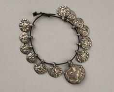 Silver pendants from Birka (Historiska Museet)