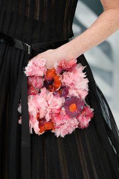 Chanel Spring/Summer 2015 HC. Paris Fashion Week 2015. Unbelievable details