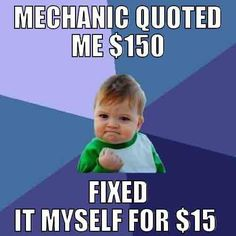 fixing a car myself - MorePics.net Funny Gag Meme Images | the coolest website ever