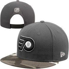 New Era Philadelphia Flyers 9FIFTY Urban Camo Snapback Hat - Graphite  Philadelphia Flyers 7fd8bffc60ac