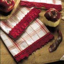 Red-Hot Dishtowels Thread Crochet ePattern
