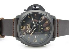 MARINA MILITARE 44MM PVD case GMT Power Reserve Au - 44mm Marina Militare - Parnis watch station