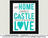 Instant Downloads Home Decor Artwork Digital by SassyGraphicsNow