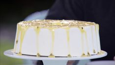 Angel Food Cake with Lemon Curd Recipe | PBS Food