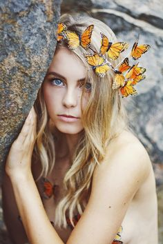 Wild and Free Jewelry - Monarch Dreams Crown for hippie boho bohemian gypsy style lovers. For more follow www.pinterest.com/ninayay and stay positively #inspired.