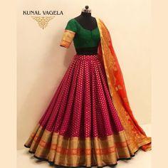 Party Wear Indian Dresses, Designer Party Wear Dresses, Indian Gowns Dresses, Indian Bridal Outfits, Indian Fashion Dresses, Dress Indian Style, Indian Designer Outfits, Lehenga Saree Design, Half Saree Lehenga
