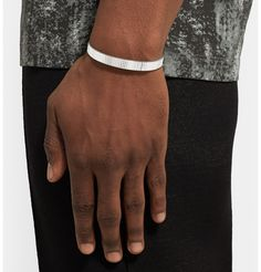 Le Gramme - Le 23 Studded Sterling Silver Cuff